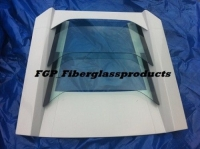 LP640 Glass engine lid for Lamborghini Murcielago